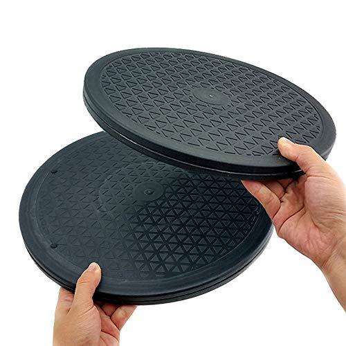 RETON 2 Piezas Soporte Giratorio Giratorio de 12 Inch para Servicio Pesado Giratorio con rodamientos de Bolas de (2 Piezas)