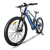 Bicicleta de montaña eléctrica de 27,5 Pulgadas, Motor Central eléctrico BAFANG 48V 750W, con batería de Litio actualizado de 17,5 Ah, Sistema de Frenos de Doble Disco de suspensión Shimano 9