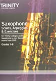 Saxophone Scales Grades 1-8 from 2015 (Woodwind Exam Repertoire)