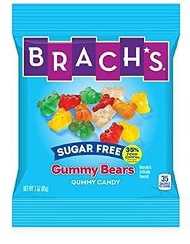 Brach s Sugar Free Gummy Bears 3 Ounces