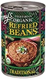 Amy's Beans, Organic Traditional Refried Beans, 15.4 oz...
