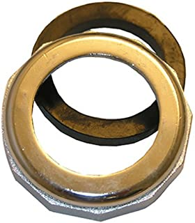 LASCO 03-1827 1-1/2-Inch by 1-1/4-Inch Chrome Plated Reducing Slip Joint Nut with Washer