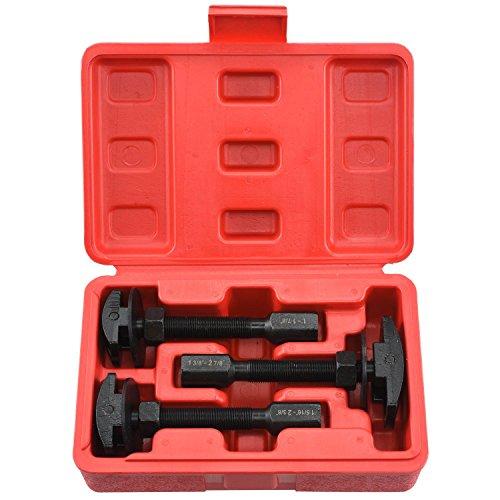 Neiko 20721A Pneumatic Rear Axle Bearing Puller Service Kit   Includes Case   3-Piece Set