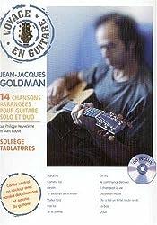 Jean-Jacques Goldman : 14 chansons arrangées pour guitare solo et duo (CD inclus)