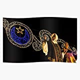 Spain Festival And Moors King Parade Campello Christians El Queen Home Decor Wall Art Print Poster !