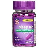 Best Sleeping Pills - Rite Aid Sleep Aid Caplets, Diphenhydramine HCl, 25mg Review