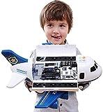 Ycco Pasaje de gran tamaño infantil Ingeniería avión del juguete del coche policía del coche conjunto de juguete de música modelo pista inercia simulación modelo de los aviones de juguete juguetes edu