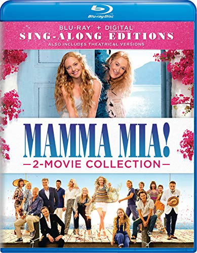 Mamma Mia! 2-Movie Collection Sing-Along Edition Blu-ray + Digital