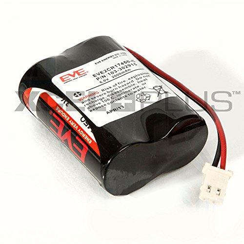 Visonic Next Leva/PGS K9–85 PG2 6 V batería para PIR CAM, 103-302915, 6V