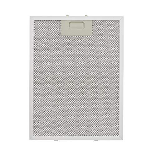 Klarstein – filtro de grasa de aluminio, 25,7 x 33,8 cm, filtro de recambio, filtro de sustitución, accesorio
