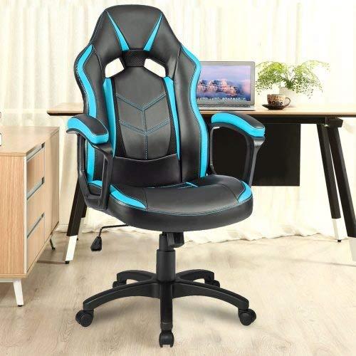 Ergonomischer Racing Sportsitz Stuhl Bürostuhl Atmungsaktiv Chefsessel Racing Stuhl Schreibtischstuhl Drehstuhl