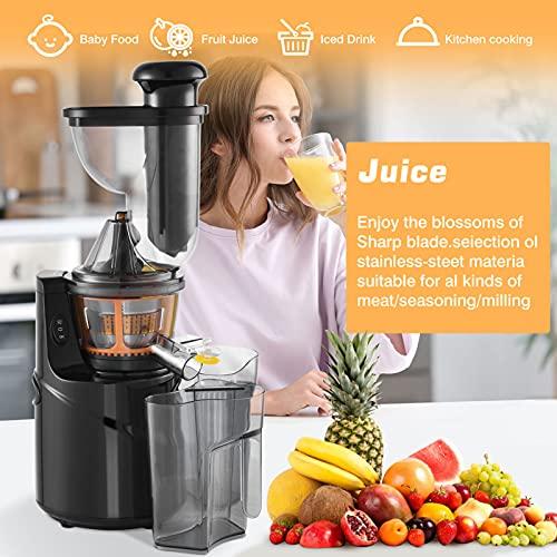 Licuadora Slow Juicer, licuadora de frutas y