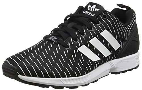 [アディダス] Original ZX Flux Mens Sneakers/Shoes-Black-22.5