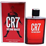 Cristiano Ronaldo - CR7 - Eau de Toilette Spray For Men - Aromatic Woody Fragrance With Notes of Bergamot, Sandalwood and Musk - 1.7 oz