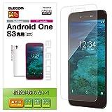 エレコム Android One S3/液晶保護フィルム/防指紋/光沢 PM-AOS3FLFG