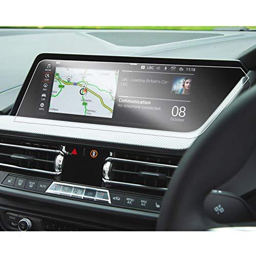 SHAOAHO - Pellicola Protettiva per navigatore Auto, per BMW Serie 1 F40, Serie 2 F44 Z4 G29, 10,25 Pollici, in Pet Trasparente, 4H, AntiGraffio, Anti-Impronte
