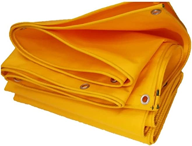 Bache De Prougeection Imperméable, Bache De Camping en Poly Abri Multi-usages Imperméable pour Tente Bache De Couverture ZHANGQIANG (Couleur   A, Taille   4.5mx6m)