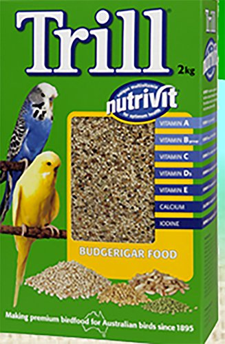 12x Trill Budgie Seed 500g 106282