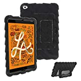 Gumdrop Hideaway Case with Kickstand for The Apple iPad Mini 5 (3rd Gen) Tablet for K-12 Students, Teachers, Kids - Black, Rugged, Shock Absorbing, Extreme Drop Protection