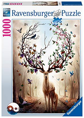 puzzle 8000 pezzi Ravensburger Puzzle- Cervo Magico 1000 Pezzi Jigsaw Adulti