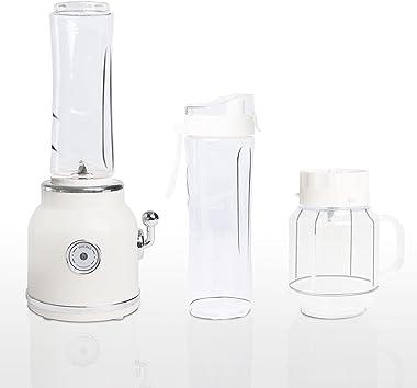 Personal Blender for Shakes and Smoothies, Smoothie Blender, 300W Retro Mini Small Smoothie Maker Blender, Portable Blender w