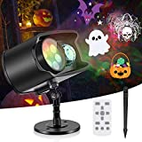 Halloween Christmas Projector Lights,No Slides Needed,AGPTEK 2-in-1 Water Wave & Moving Pa...