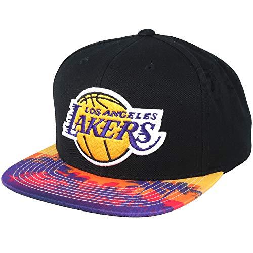 Mitchell & Ness Los Angeles Lakers HWC INTL226 2 Tone Team Arch Snapback Cap Kappe Basecap
