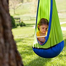 Fat Brain Toys Hanging Fabric Swing - Sky Nook Active Play for Ages 3 to 9