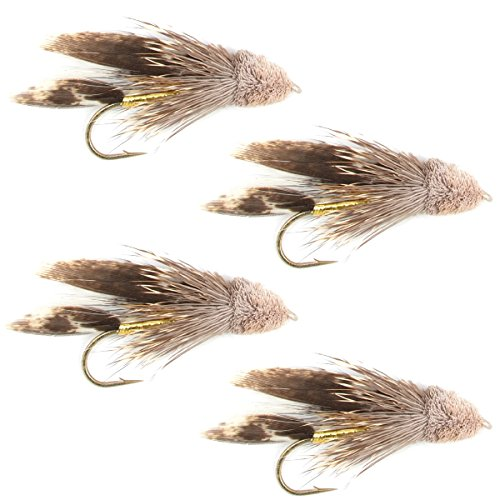 The Fly Fishing Place Muddler Minnow Fly Fishing Flies - Classic Bass and Trout Streamers