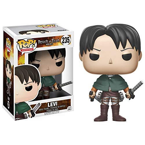 Gogowin Attack on Titan #235 Levi Chibi Figure