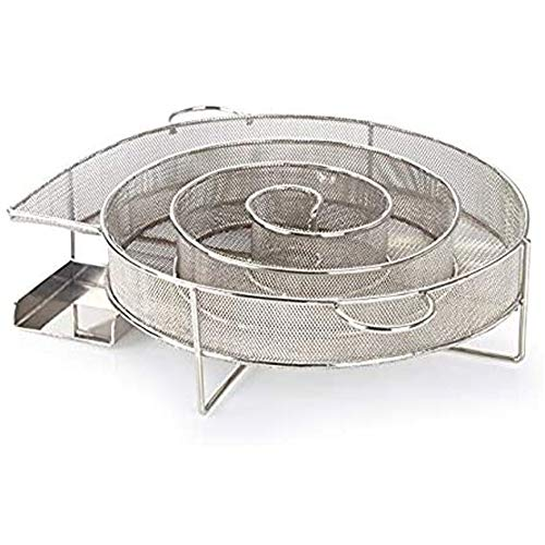 Hout roestvrij staal grill rookgenerator koude mand barbecue chips