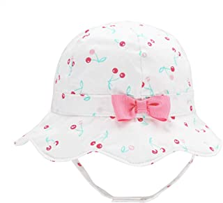 Toddler Kids Baby Girl Breathable Sun Hat Cotton Foldable...