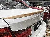 JKBDNB Spoiler ABS Car Rear Ala Primer Spoiler Posteriore Colorato per BMW Serie 3 F30 2011-2018, Primer, Primer, Primer