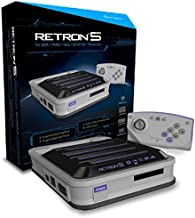 Hyperkin RetroN 5 Retro Video Gaming System (5 in 1) - Grey (Electronic Games) by Hyperkin