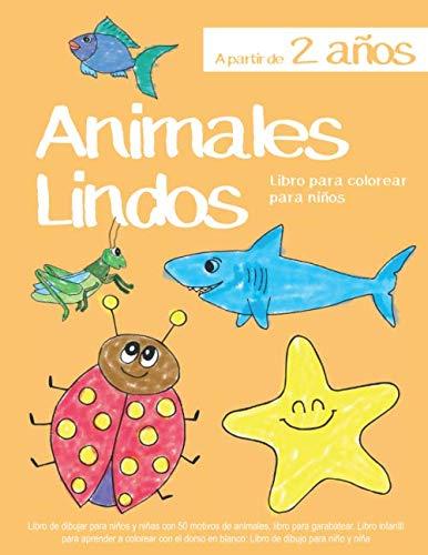 Libro para colorear para niños Animales Lindos A partir de