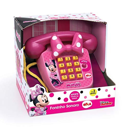 Foninho Sonoro Minnie, Elka, Telefone, Sortido