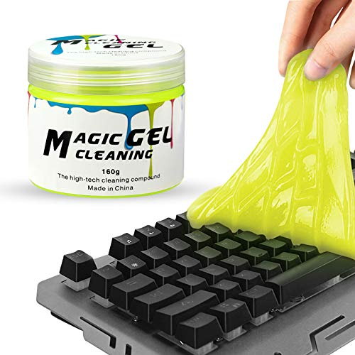 ITME Keyboard Cleaner Reusable Dust Cleaning Gel for Laptops, Keyboards, Car Vents, Remote Control, Calculators Magic Dust Cleaner