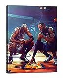 Kobe Bryant Wall Art Painting Michael Jordan & Kobe...