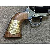ハートフォード 木製グリップ HWS Colt SAA.45(3rd) バントライン・スペシャル ワイアット・アープ モデル 専用(メダリオン付 ツーピース)