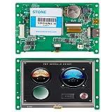 4.3インチ HMI TFT LCDモジュールディスプレイ+ PCB +タッチパネル、産業機械機器用