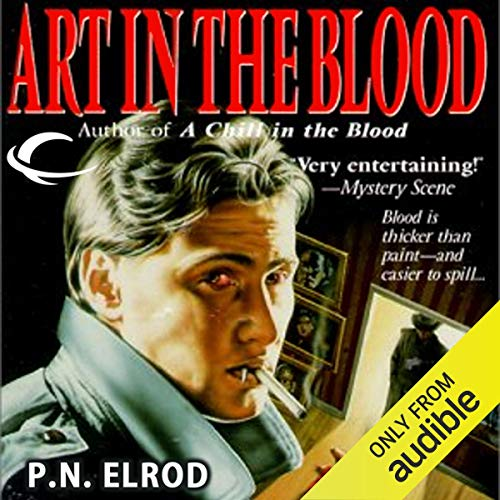 Art in the Blood audiobook cover art
