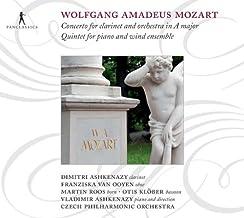 Mozart: Concierto Para Clarinete, Quinteto Para Piano Y Ensemble De Viento / Ashkenazy, Van Ooyen, Roos, Klober, Orq. Fil. Checa - Ashkenazy