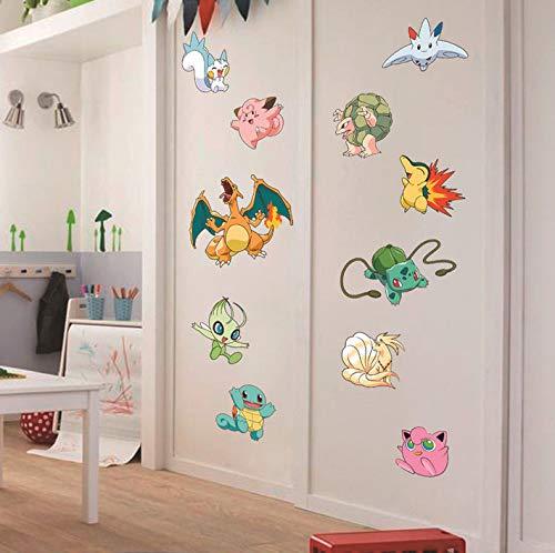 Sticker mural Pokémon Go pour chambre denfant