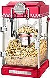 HSJ Máquina de Palomitas de maíz Comercial Completamente automático Nuevo manivela Saludable (Color : Red, Size : 25x28x46cm)