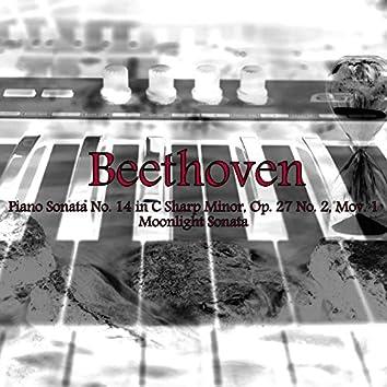 Piano Sonata No. 14 in C-Sharp Minor, Op. 27 No. 2, Mov. 1, Moonlight Sonata