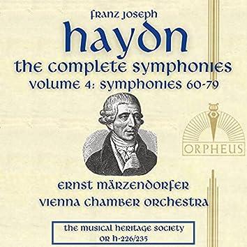 Haydn: The Complete Symphonies, Volume 4 (Symphonies No. 60-79)