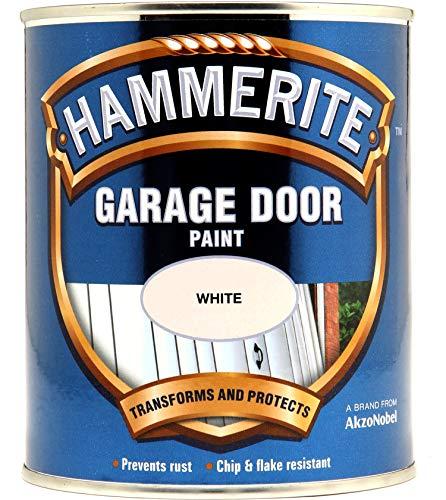 Hammerite 5092848 750ml Garage Door Paint - White by Hammerite