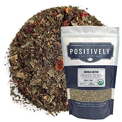 Organic Positively Tea Company, Herbal Detox, Herbal Tea, Loose Leaf, 16 Ounce by Organic Positively Tea Company