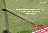 XXL Befestigung für Hängematte an Bäumen 6,4 Meter + max. 250 KG KOMPLETTSET NEU - 3