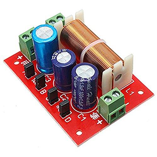 YLY-2088 400W einstellbare 2-Wege-Frequenzweiche 2 Einheit Audio Lautsprecher Frequenzteiler Full Range Treble Bass